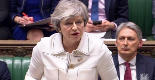 Brexit: May warns of break-up of the country