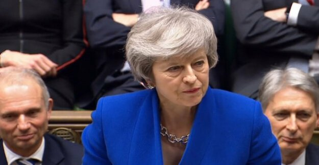 Brexit - vote of no against May trust : Theresa may's tactics of mistake