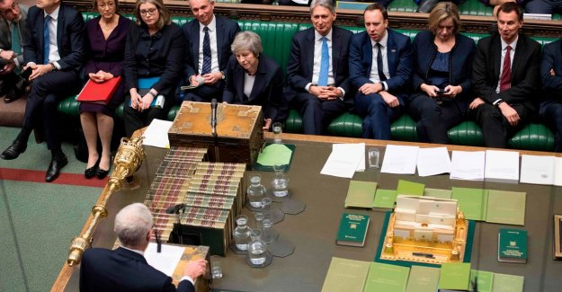 British prime minister May survive a vote of confidence in