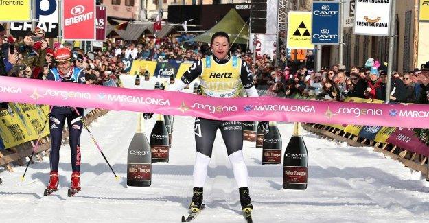 Britta Johansson Norgren broke all of the Marcialonga