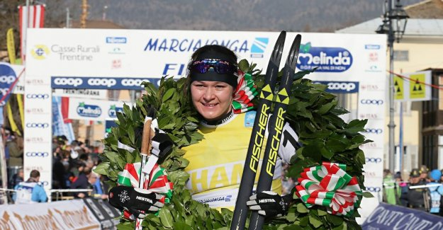Britta Johansson Norgren historic winner in Seefeld