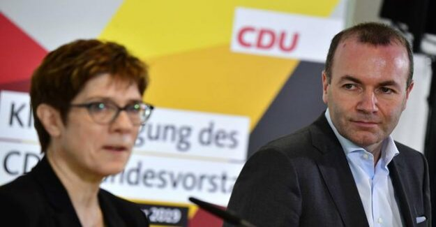 CDU exam in Potsdam : the first Test for the new Unity