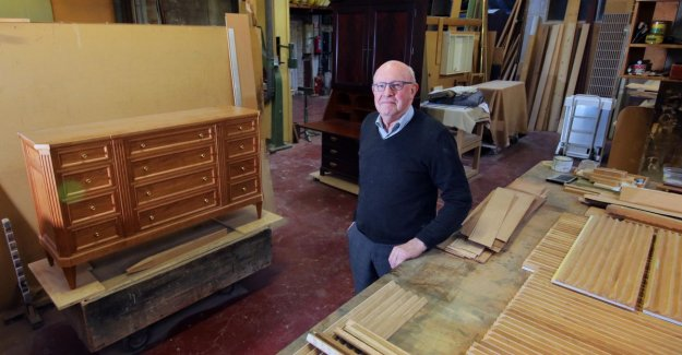 Cabinet maker after 65 years, retired: The time that everyone kwaliteitsmeubelen wanted, is over. It's all Ikea