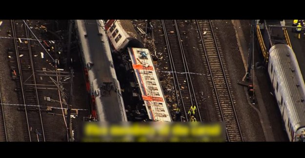 Cameraman confirms: images of train accident Buizingen is correctly purchased by Netflix