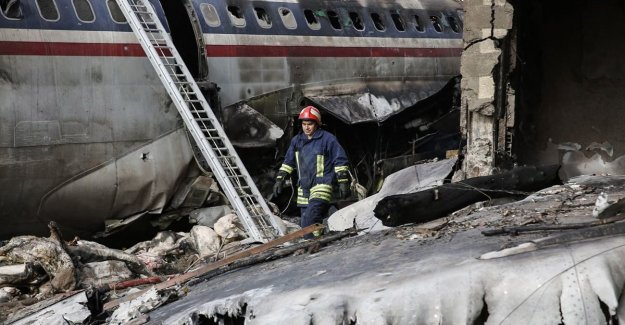 Cargo plane crashes in Iran, killing 15
