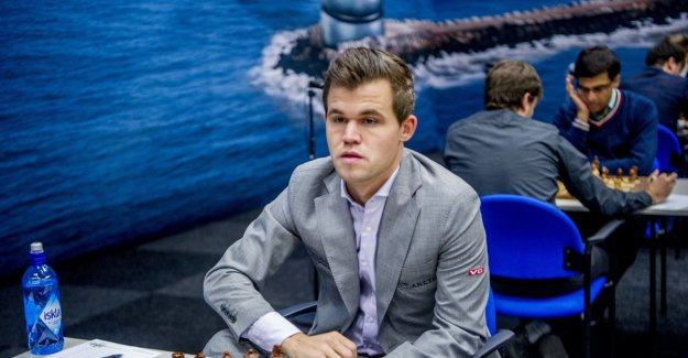 Carlsen with the marathon-a draw in the Netherlands