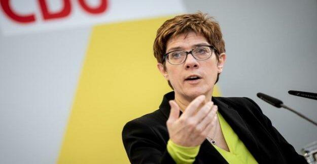 Casdorffs Agenda : Kramp-Karrenbauer is already in election campaign mode