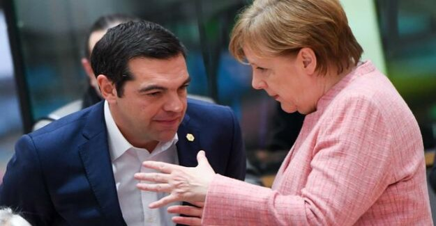Chancellor in Greece : Merkel's difficult Mission