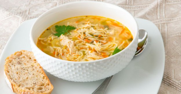 Chicken soup – simple, tasty and warming