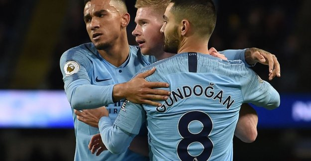 City has no child at the Wolverhampton of Dendoncker: substitute De Bruyne, press z'n stamp