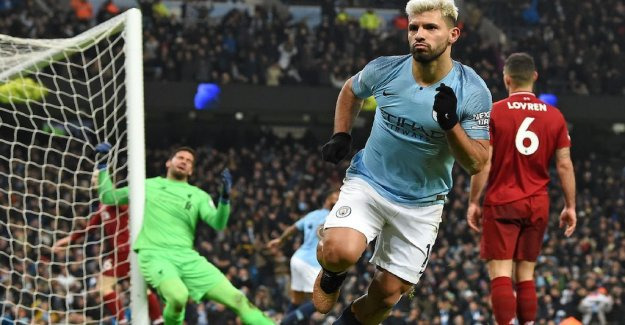 City hooks on the top – defeated Liverpool