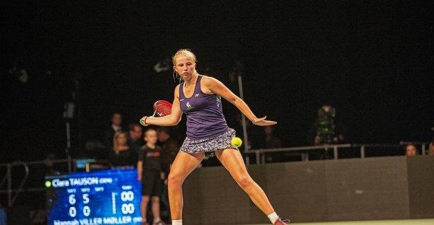Clara Tauson ready for the Australian Open