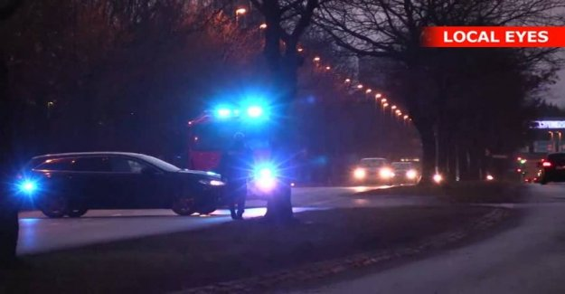 Closes road in Vollsmose: Police move out to the shots and traffic accidents