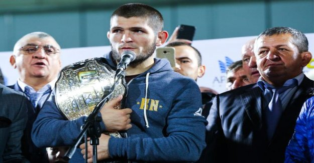 Conor McGregor to get considerably Habib nurmagomedov for less in the UFC's scandal of match - bragging about now, how bashes his fist with his brother in the face
