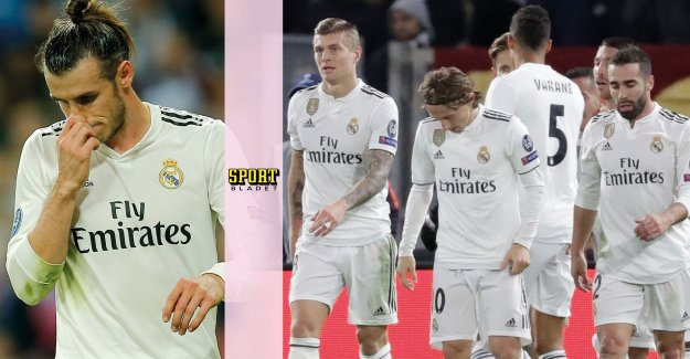 Crack in the Real Madrid – lagkamraterna criticise Bale