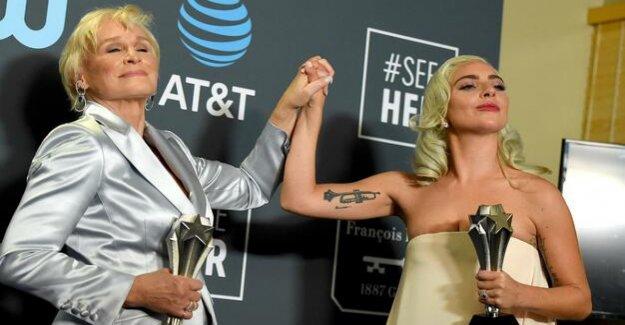 Critics' Choice Awards : Lada Gaga and Glenn Close price of share