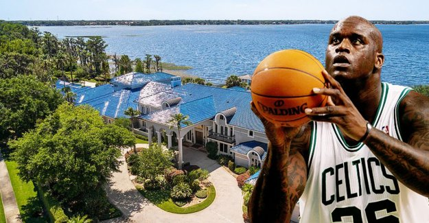 DRIFT. Basketball player Shaquille O'neal sell pied-a-terre for 20 million euros