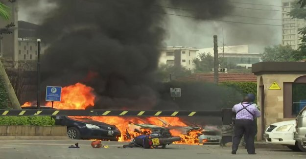 Data on explosions at hotels in Nairobi