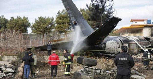 Dead in plane crash in Iran