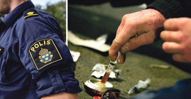 Decriminalize the use of drugs in Sweden