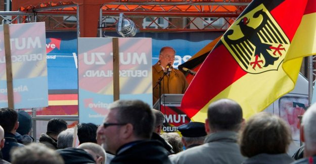 Dexit on the agenda of the German right-wing populists