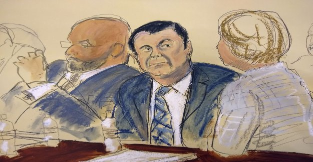 El Chapos defense briefly – just a witness