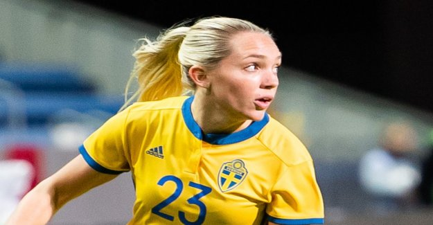 Elin Rubensson is forced to stay at home