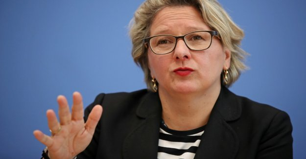 Environment Minister Schulze, attacked transport Minister Scheuer