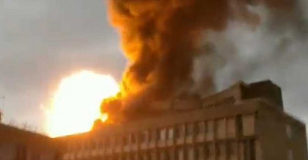 Explosions at the university in Lyon: three gas cylinders exploded