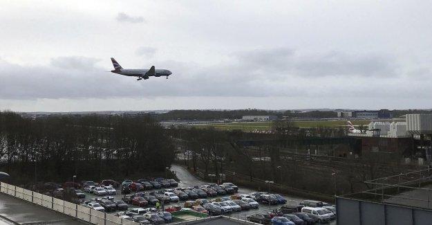 Extended drönarskydd at uk airports
