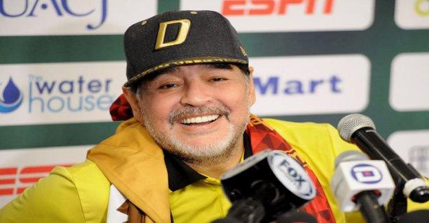 Fear Maradona status wears off, the surgery was a success - thank god
