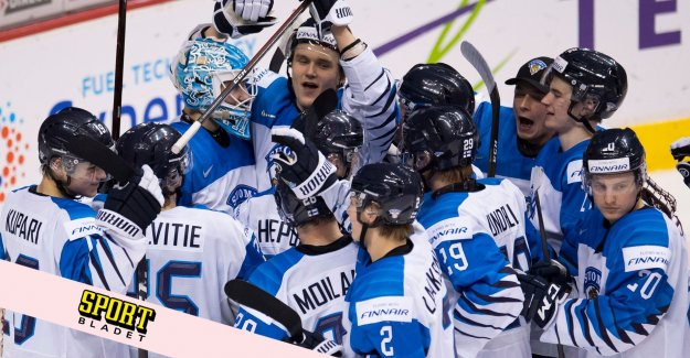 Finland crushed Switzerland – clear for the JVM-final