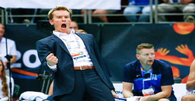 Finland volleyball national team made his way to the european championships!