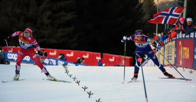 Finnish skier was caught in a border pinched the ski slope atop the tour's end: I Think that I'll take care of Russian