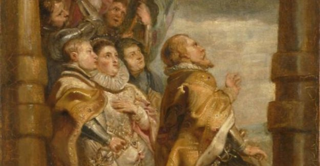 Fleming discovered lost sketch by Rubens