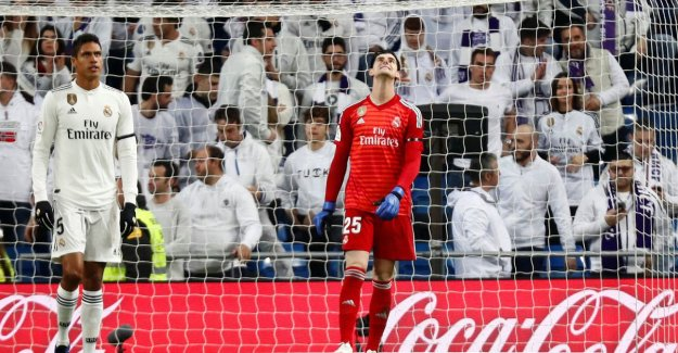 Flute concerto in Bernabéu after painful thuisnederlaag for Real Madrid against Sociedad: Januzaj wins a duel against Courtois