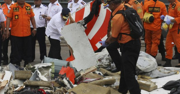 Flystyrten in Indonesia: Found the black box which can give more answers