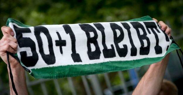 Football-Bundesliga : DFL the issue of 50+1 should not underestimate