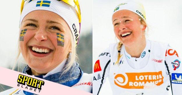 Frida Karlsson's new crusher – against seniors