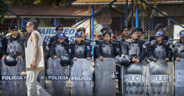 Frp out against aid to the Nicaraguan police: - it Shall not go to the oppressors