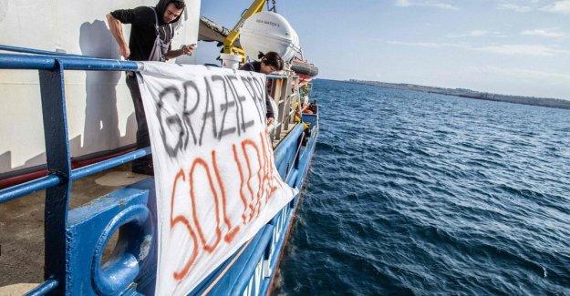 German organization sues Italy for migrantvägran