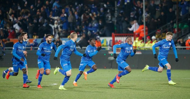 Ghent party on the coast: Buffalo's place after blood-curdling penaltyreeks for final Croky Cup