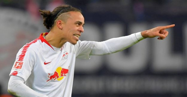 Glory to Yussuf Poulsen: Round of play in the Bundesliga