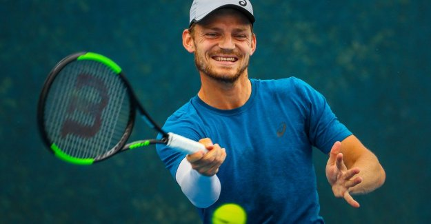 Goffin prepares for take with solid Romanian: I feel that my level is rising, not panic
