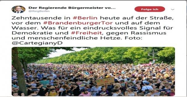 Governing mayor : AfD-action before a court: the Senate defended Müller-Tweet