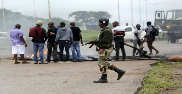Group of doctors: the 68 people shot in Zimbabwe