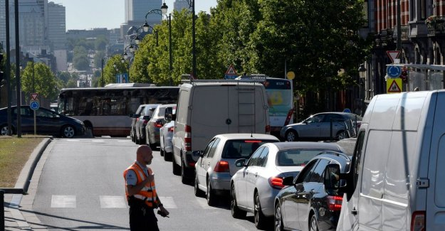 Growth e-commerce does number of vans in Brussels to increase considerably