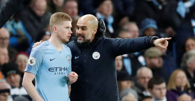 Guardiola has given its own players ready Liverpool-information in gullkampen