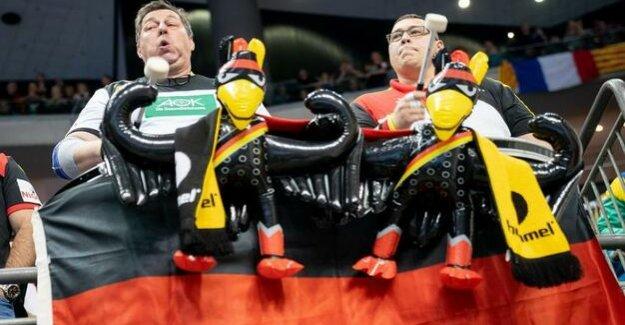 Handball-WM in Berlin : Between relaxation and arousal