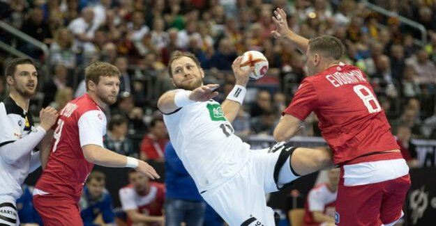 Handball world Cup : Later, a setback: Germany plays against Russia in a draw